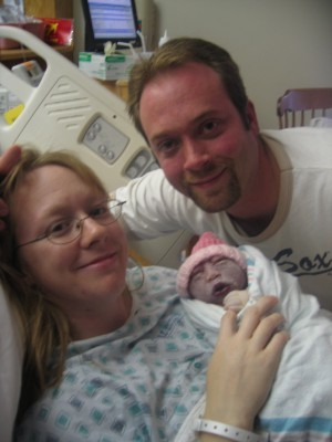Ava Grace, baby with anencephaly