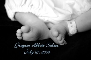 Grayson, baby with anencephaly