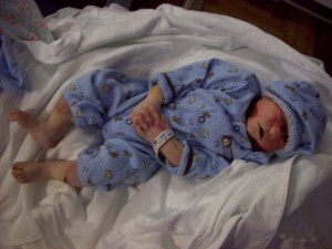 Taylor Wayne, baby with anencephaly
